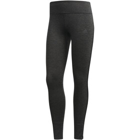 adidas Response Heather Løbetights Damer, black/carbon